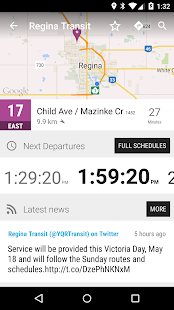 Regina Transit Bus MonTransit Apps on Google Play