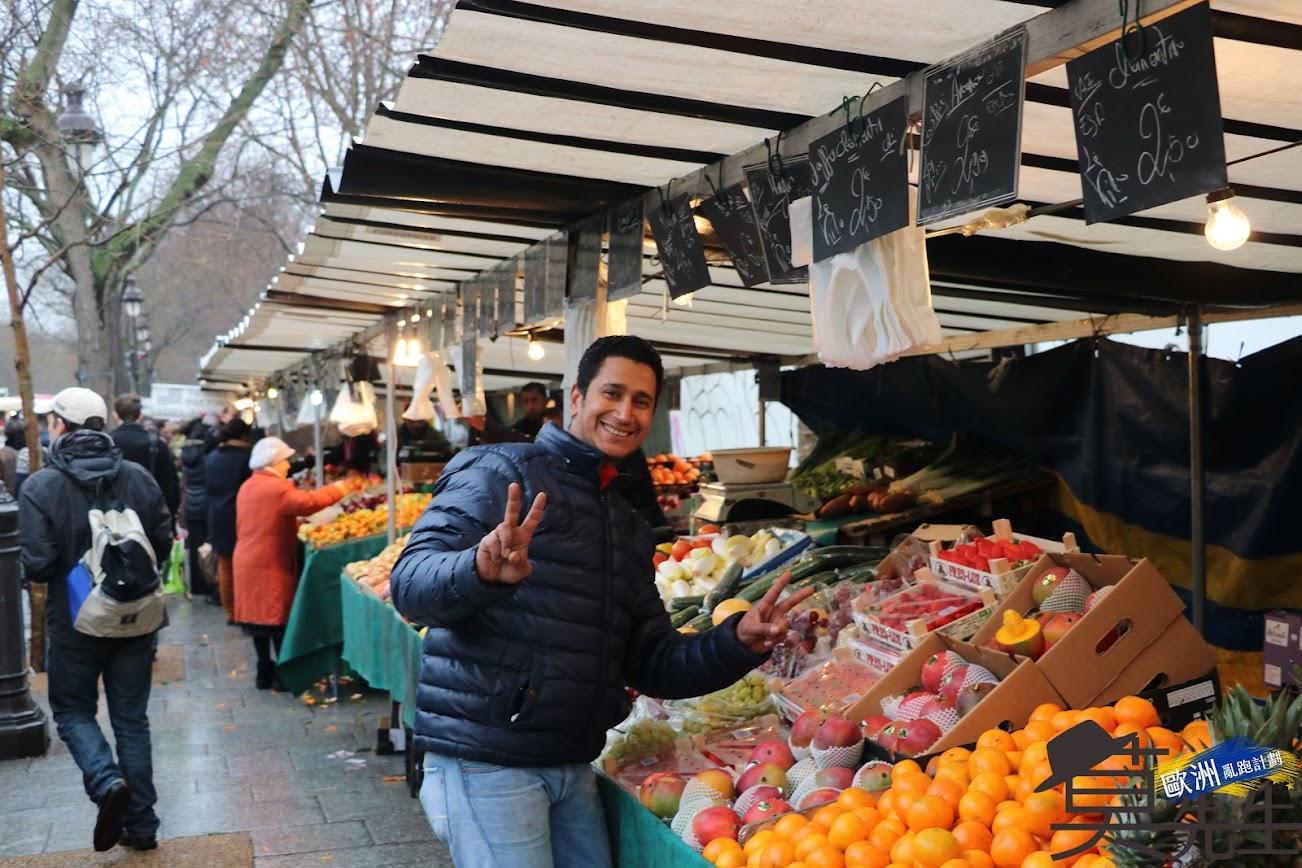 巴黎散步路線 | 巴士底市集 | 傳統美食交匯之地