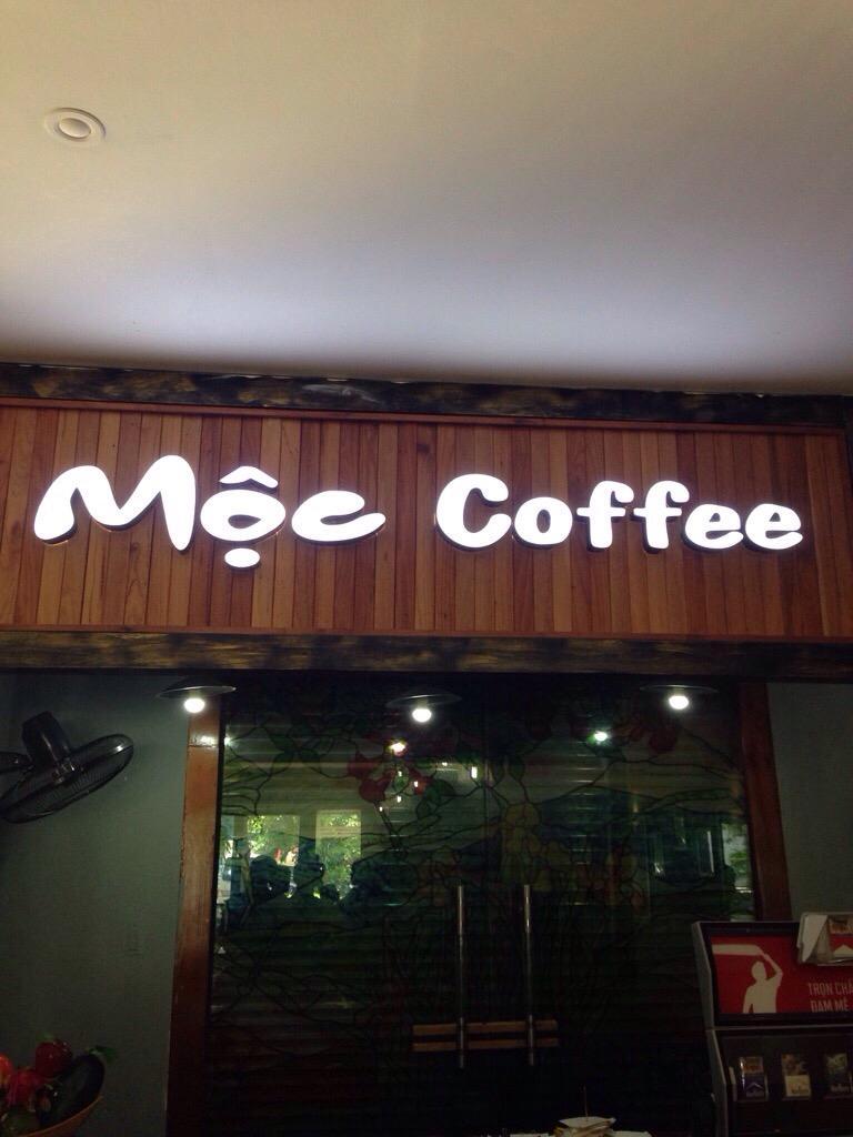 mẫu biển quảng cáo cafe
