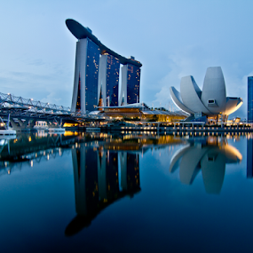 Marina Bay Sands by Wah Yuen Lau - Buildings & Architecture Other Exteriors ( mbs, marina bay sands, singapore, marina bay )