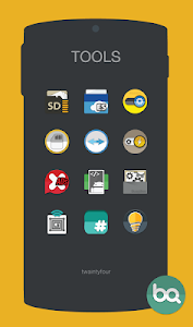 Blacqerial IconPack v3.7