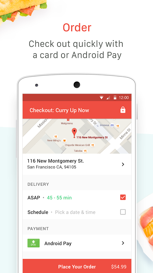Food Delivery by DoorDash- screenshot