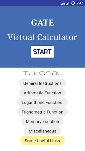 Gate Virtual Calculator 2.1 screenshots 2