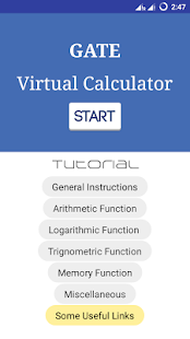 Gate Virtual Calculator - náhled