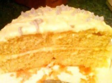 Scrumptous Orangey Cake!