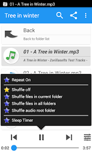 Music Folder Player Full - náhled