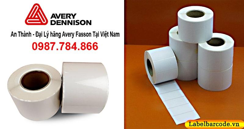 An Thành - cung cấp giấy decal cảm nhiệt chính hãng Avery Fasson