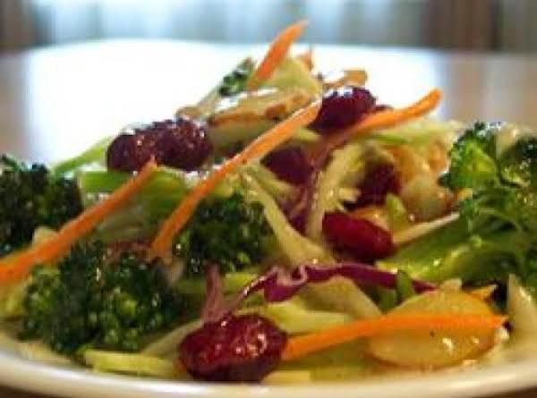 Cran-broccoli Slaw
