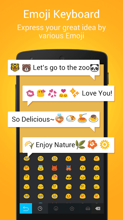 DU Emoji Keyboard-ES- screenshot