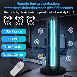 Lampa bactericida UVC cu OZON, 36W, Forever, pentru sterilizare