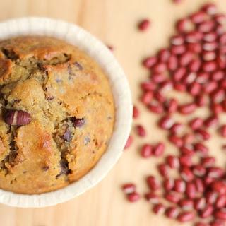 Red Bean (Adzuki) Quinoa Muffins.
