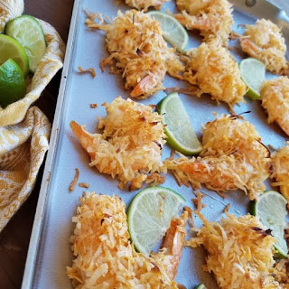 Baked Chili Coconut Shrimp