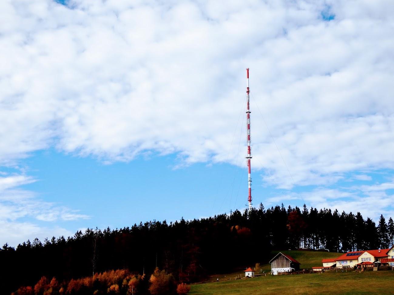 Linz/Lichtenberg - TV-URH gerincadó állomás