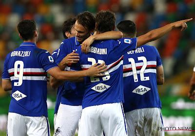 Serie A : La Sampdoria s'impose face à Parme au terme d'un match riche en buts
