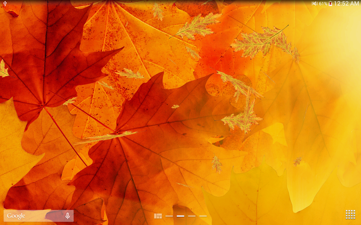 Falling Leaves Live Wallpaper Apps Android 3d Maple Live Wallpaper Pro Hd Android Apps On Google Play