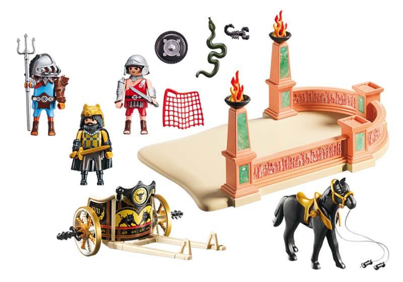 Contenido de Playmobil® 6868 Combate de Gladiadores