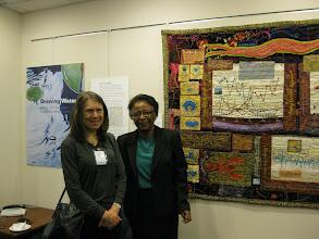 Photo: Bonnie Peterson and Dr Cora Marrett, Deputy Director NSF