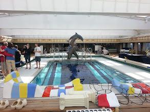 Photo: Lido pool on ms Ryndam