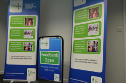 Large pop up display