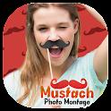 Moustache Photo Montage Editor icon