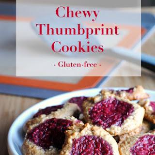 Thumb Print Cookies – Gluten-free