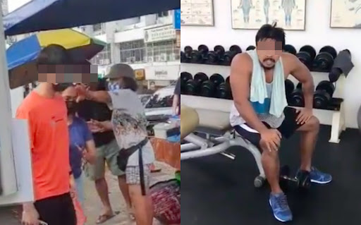 Foul-Mouthed Man Arrested After Verbal Assault At Nasi Lemak Stall & SOP Violation