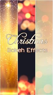 Vánoční Bokeh Foto Efekty - náhled