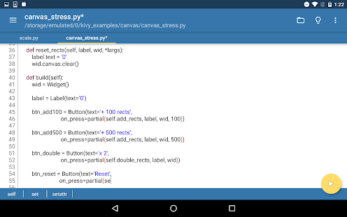 Pydroid - IDE for Python 2 v1 1 [Latest] | APK4Free