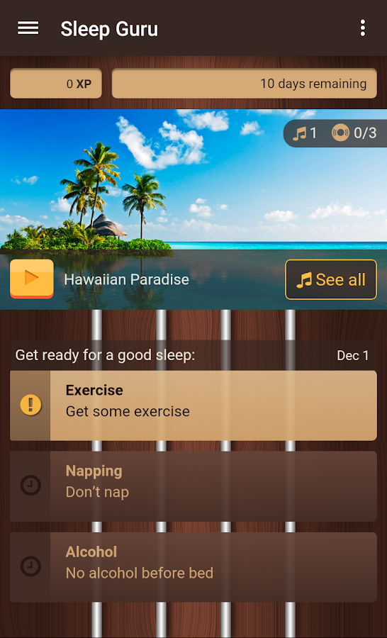 Sleep Guru- screenshot