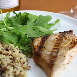 Grilled Swordfish with Garlic Soy Marinade