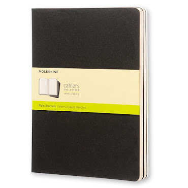 Cahier Journal XL Black