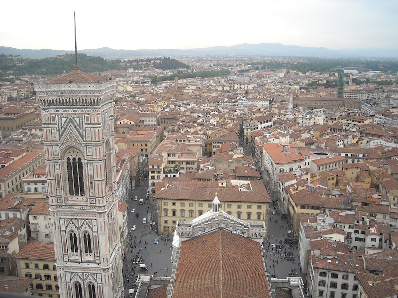 Firenze vista dalla Cattedrale di Santa Maria del Fiore di Nicki