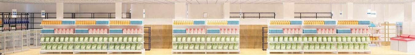 thiết kế siêu thị mini chất lượng cao đầy đẳng cấp