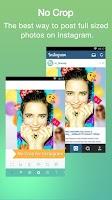 Screenshot of No Crop & Square for Instagram