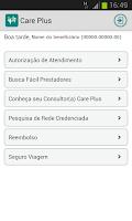 Screenshot of Care Plus