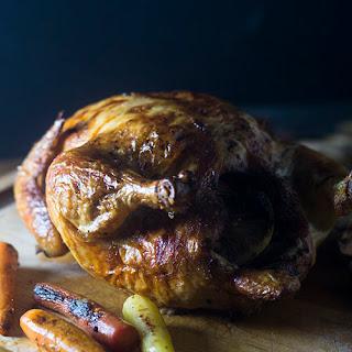 Julia Childs Roast Chicken.