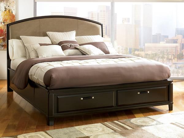 giường gỗ có ngăn kéo