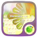 Shimmery rays GO Keyboard icon