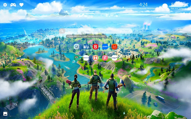 Cool Fortnite Game Wallpaper Hd New Tab