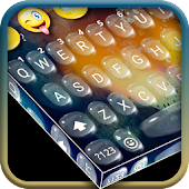 3D Water Drop Keyboard Theme