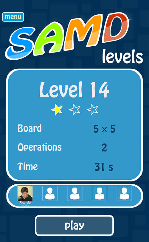 SAMDLevels - Puzzle game- screenshot