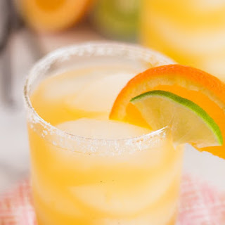Orange Vanilla Bean Margaritas