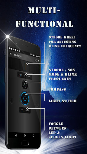 Flashlight LED MF PRO – Brightest torch light v1.1.4 [Paid]