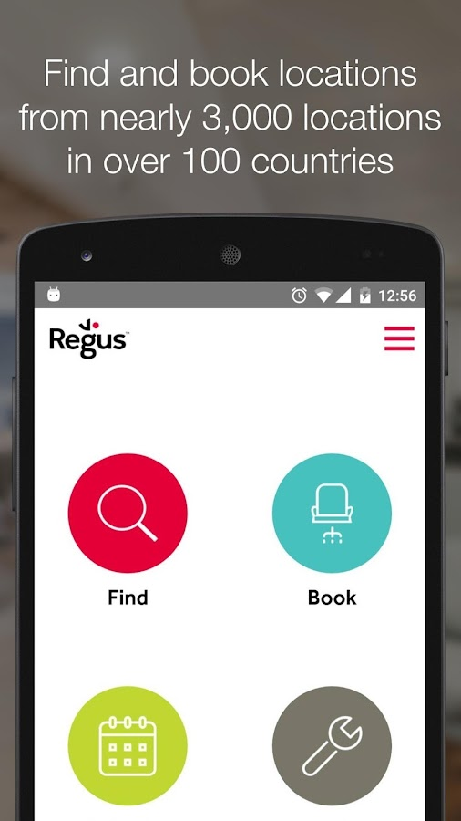 Regus  offices & meeting rooms- screenshot