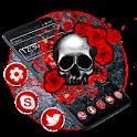 Red Devil Skull Theme icon