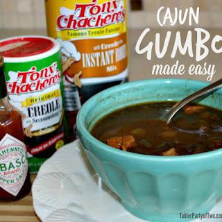 Cajun Gumbo, Made Easy and Healthified