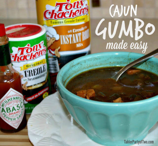 Cajun Gumbo, Made Easy and Healthified
