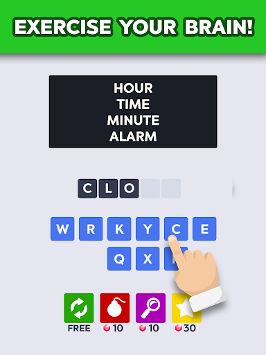Word to Word: Fun Brain Games, Offline Puzzle Game - screenshot