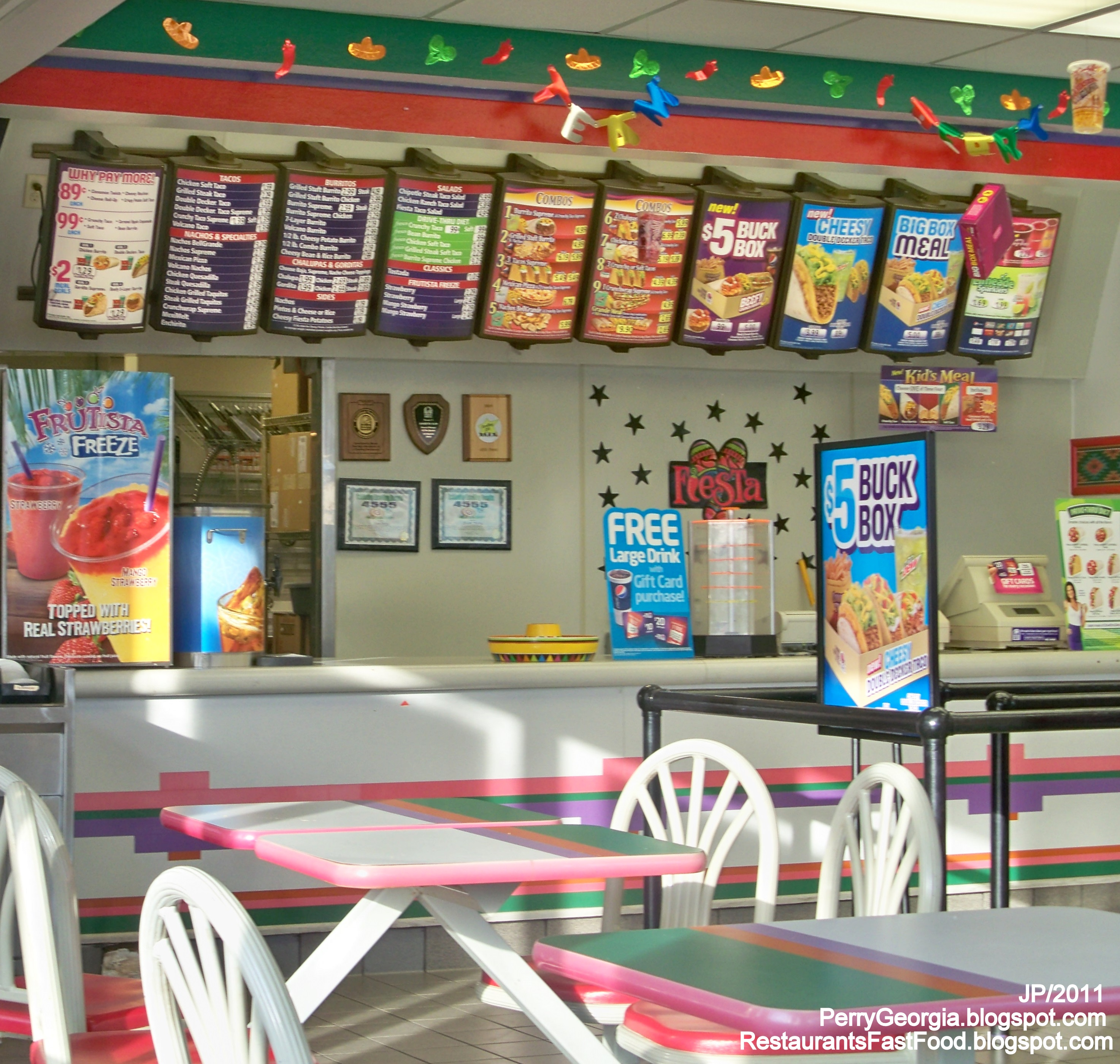 Photo Taco Bell Perry Georgia Mexican Fast Food Restaurant Houston County