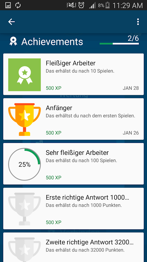 Neuer Millionär - Millionaire quiz game in German- screenshot